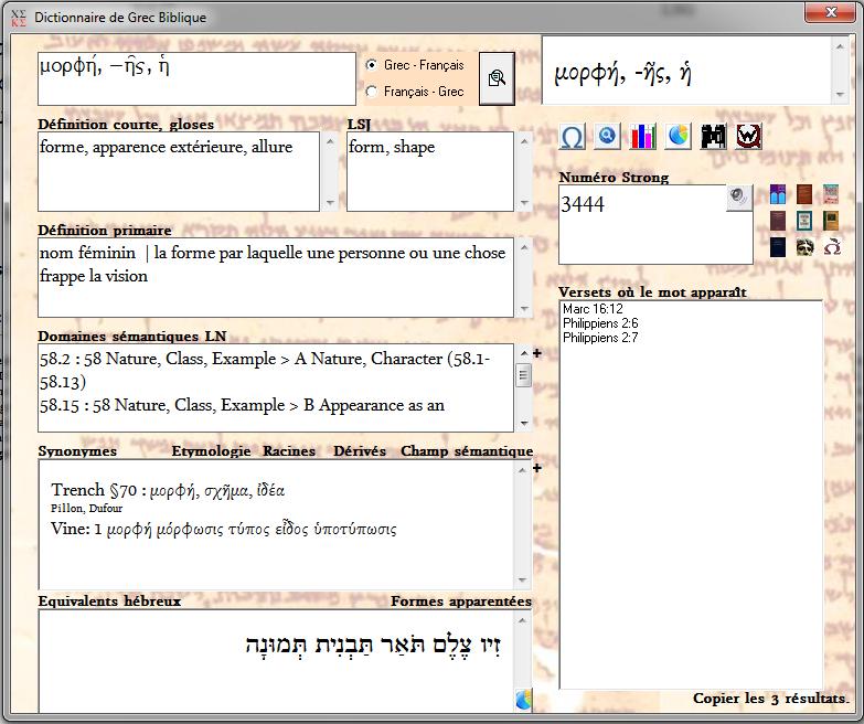 racine grecque des mots